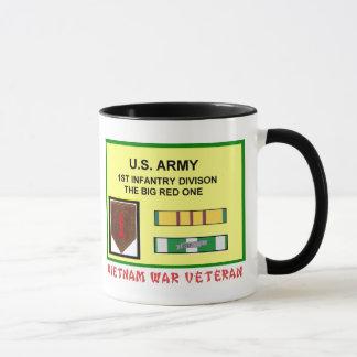 1ST INFANTRY DIVISION VIETNAM WAR VET MUG