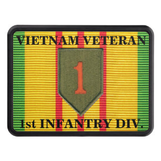 1st Infantry Division VSM Ribbon Hitch Cover