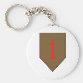 1st Infantry Divisiona Keychain