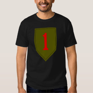 1st Infantry Large Logo T-Shirt
