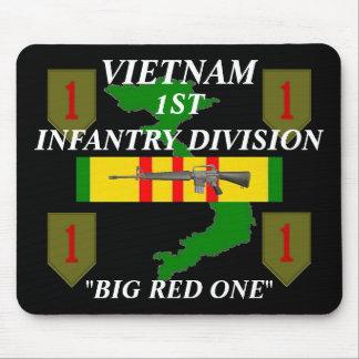 1st Infantry Vietnam Mousepad