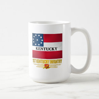 1st Kentucky Infantry Classic White Coffee Mug