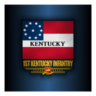 1st Kentucky Infantry Poster
