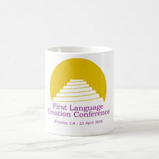 1st LCC - Gold/purple LCC logo mug