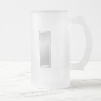 1st Lieutenant Frosted Glass Beer Mug