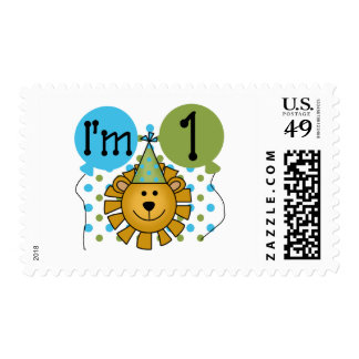1st Lion Birthday Tshirts and Gifts Postage