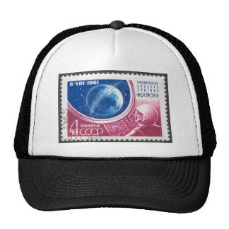 1st Manned Global Space Flight Trucker Hats