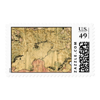 1st Map of the Forgotten Realm Postage