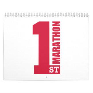 1st Marathon Calendar