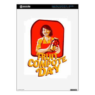 1st March - Fruit Compote Day - Appreciation Day iPad 3 Skins
