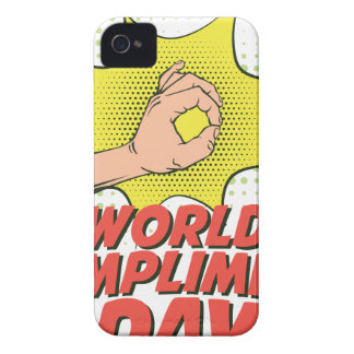 1st March - World Compliment Day iPhone 4 Cover