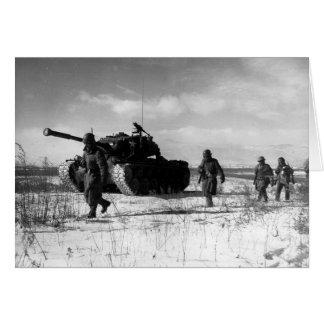 1st Marine Division Moving Through the Chosin Card