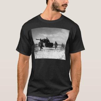 1st Marine Division Moving Through the Chosin T-Shirt
