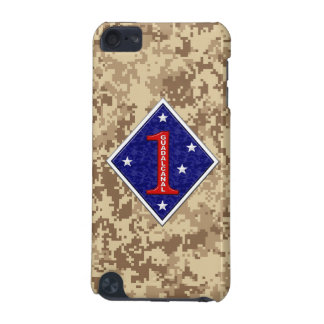 "1st Marine Division ""The Old Breed"" Marine Camo iPod Touch 5G Cases"