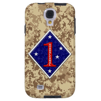 """1st Marine Division """"The Old Breed"""" Marine Camo Galaxy S4 Case"""