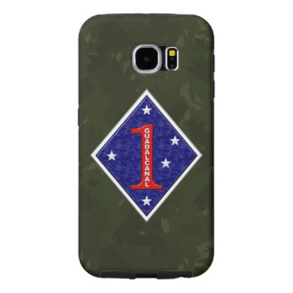 """1st Marine Division """"The Old Breed"""" Samsung Galaxy S6 Cases"""