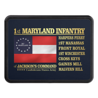 1st Maryland Infantry (BA2) Trailer Hitch Cover