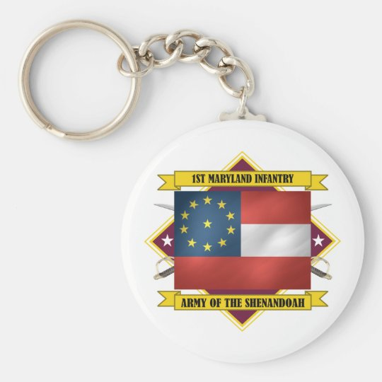 1st Maryland Infantry Keychain