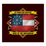 1st Maryland Infantry Poster
