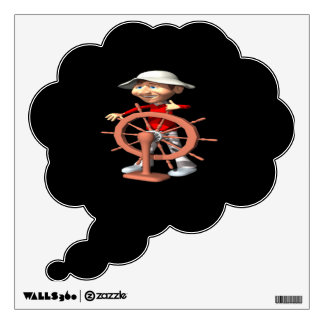 1st Mate Wall Decal