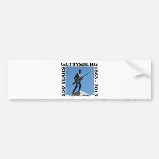 1st Minnesota Infantry - 150th Gettysburg Bumper Sticker