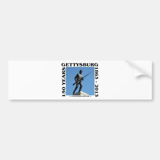 1st Minnesota Infantry - 150th Gettysburg Bumper Sticker