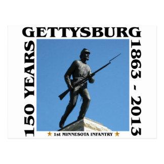 1st Minnesota Infantry - 150th Gettysburg Postcard