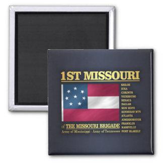 1st Missouri Infantry (BA2) Magnet