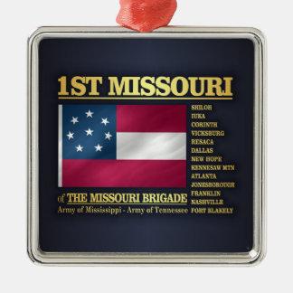 1st Missouri Infantry (BA2) Metal Ornament