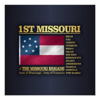 1st Missouri Infantry (BA2) Poster
