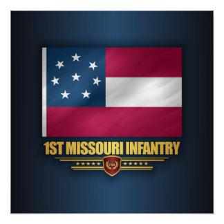 1st Missouri Infantry Poster