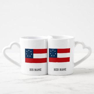 1st NATIONAL FLAG CSA Coffee Mug Set