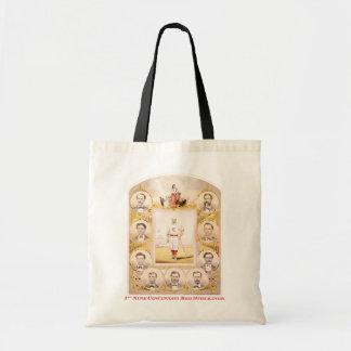 1st Nine Tote Bag