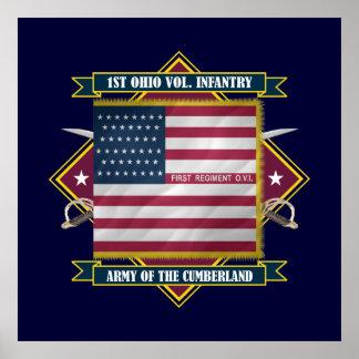 1st Ohio Volunteer Infantry Posters