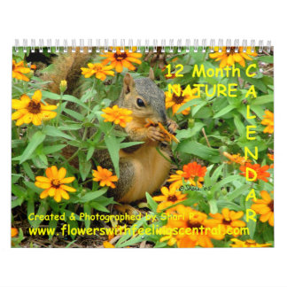 1st Original Nature Photos Wall Calendar