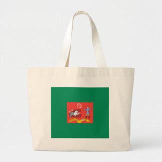 1st Pennsylvania Regiment Flag Canvas Bag