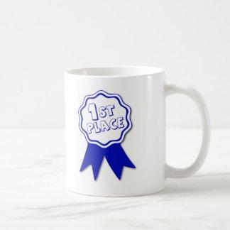 1st Place Award Ribbon Coffee Mug