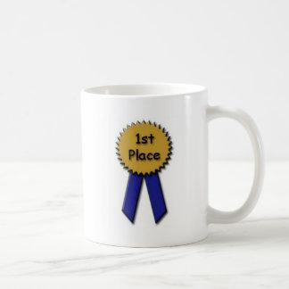 1st Place Blue Ribbon Coffee Mug