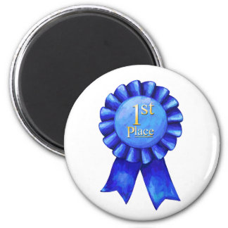 1st Place Blue Ribbon Magnet