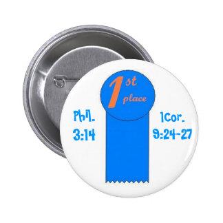 1st Place Pinback Button