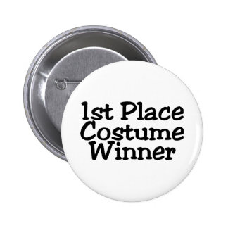 1st Place Costume Winner 2 Inch Round Button
