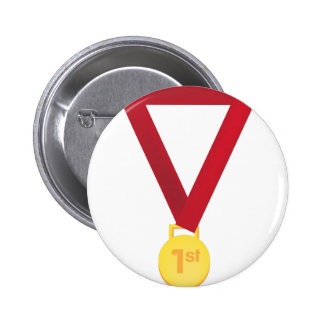 1st Place Medal 2 Inch Round Button