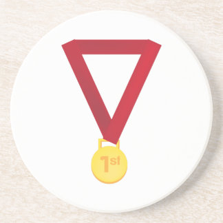 1st Place Medal Coasters