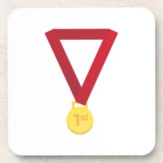 1st Place Medal Beverage Coaster