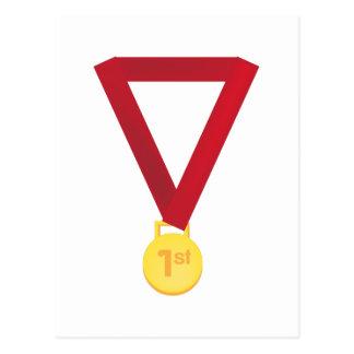 1st Place Medal Postcard