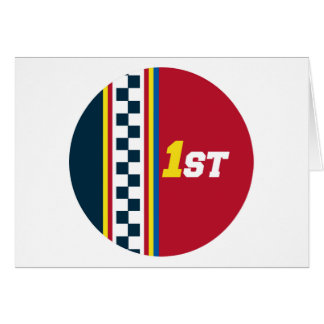 1st Place - Pole Position Card