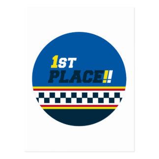 1st Place - Pole Position Postcard