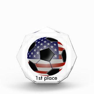 1st place soccer award