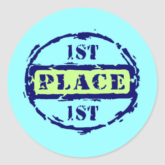 1st Place Sticker