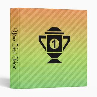 1st Place Trophy Design Binder